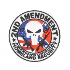 Nášivka na suchý zip 101 Inc. 2nd Amendment / 80mm