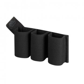 Pouzdro na zásobníky na suchý zip Helikon Triple Elastic Insert Black