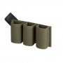 Pouzdro na zásobníky na suchý zip Helikon Triple Elastic Insert OD Green